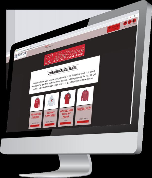Custom Team Stores Online